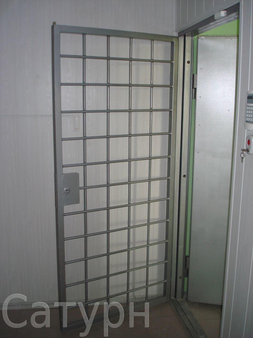 металлическая дверь для банка