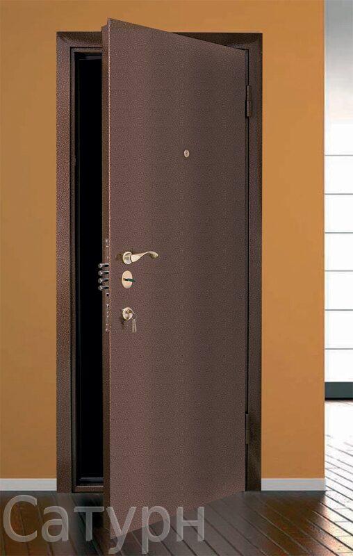 стальная дверь с порошковым напылением с двух сторон 2000х900